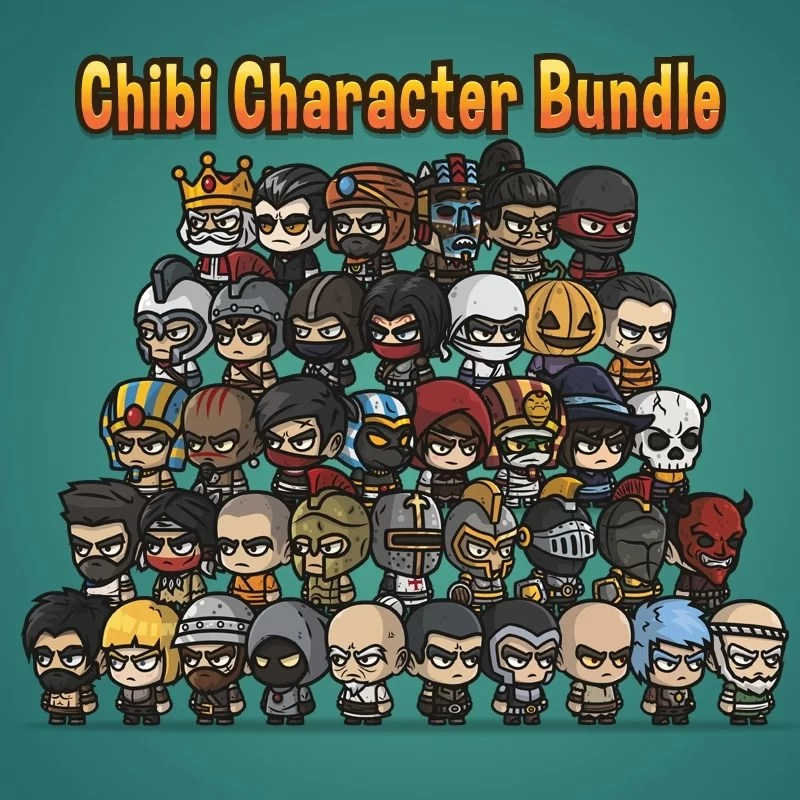 Chibi Character Bundle - Game Assets
