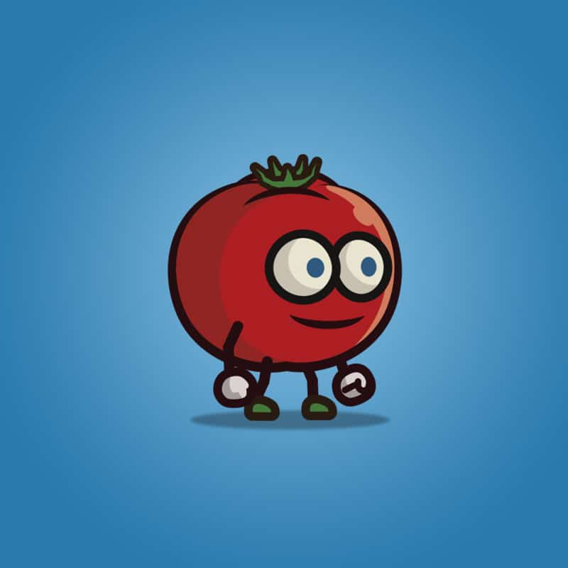 Tomato Guy - 2D Character Sprite
