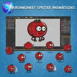 Tomato Guy - Brashmonkey Spriter Character Animations