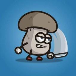 Mushroom Guy - 2D Character Sprite