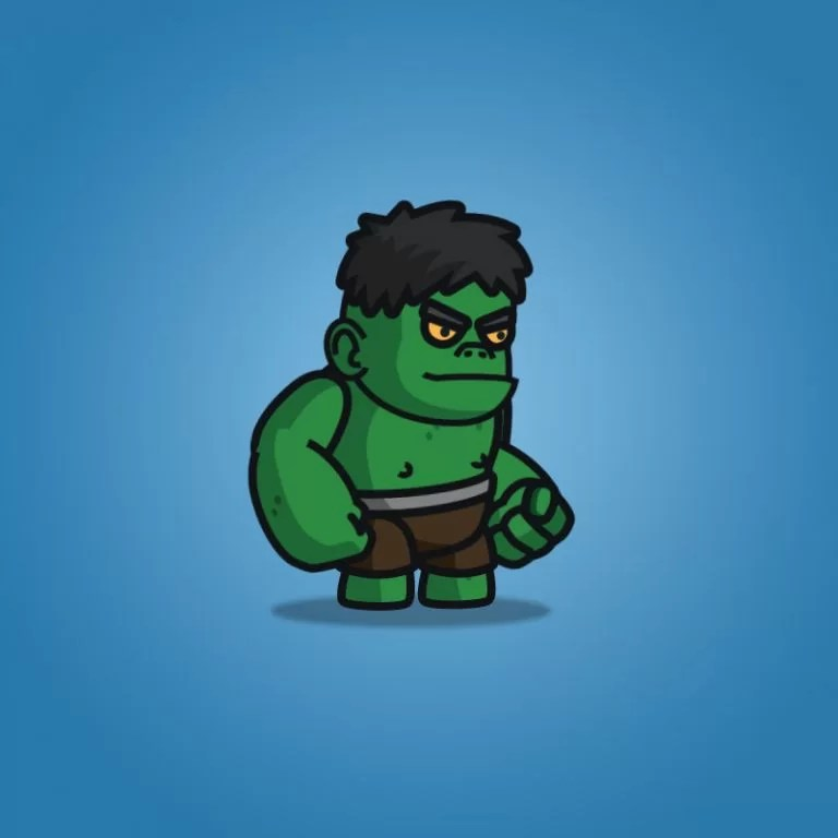 Gigantic Orc - 2D Character Sprite
