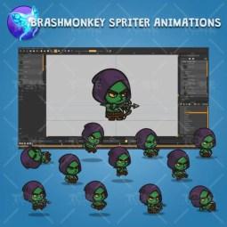 Goblin Archer - Brashmonkey Spriter Charcater Animations