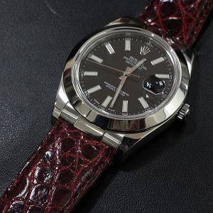 half off f2f37 95508 ロレックスのベルトを革ベルトにした時の問題解決! | 時計屋 ...
