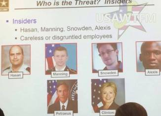 Hillary Clinton a careless employee