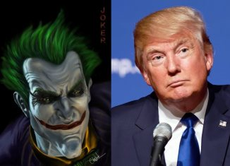 The Joker and Donald Trump