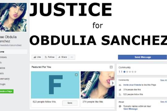 Free Obdulia Sanchez Facebook Group