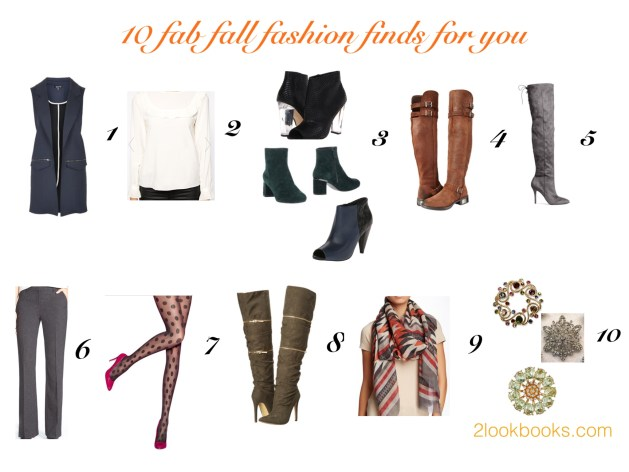 10 fab fall fashion finds for you