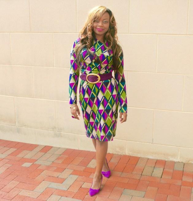 longsleeve-purple-print-dress