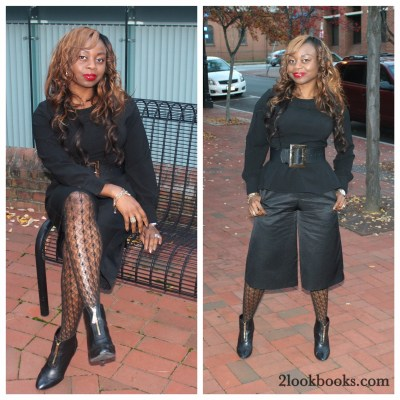 Black x Black=Chic Workwear