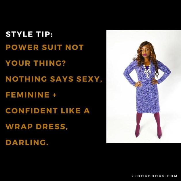 Wrap Dress Confident