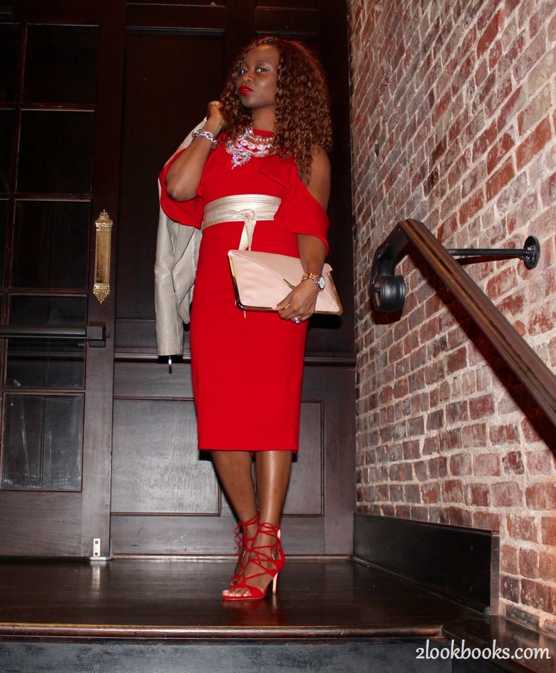 Red Party Dress2