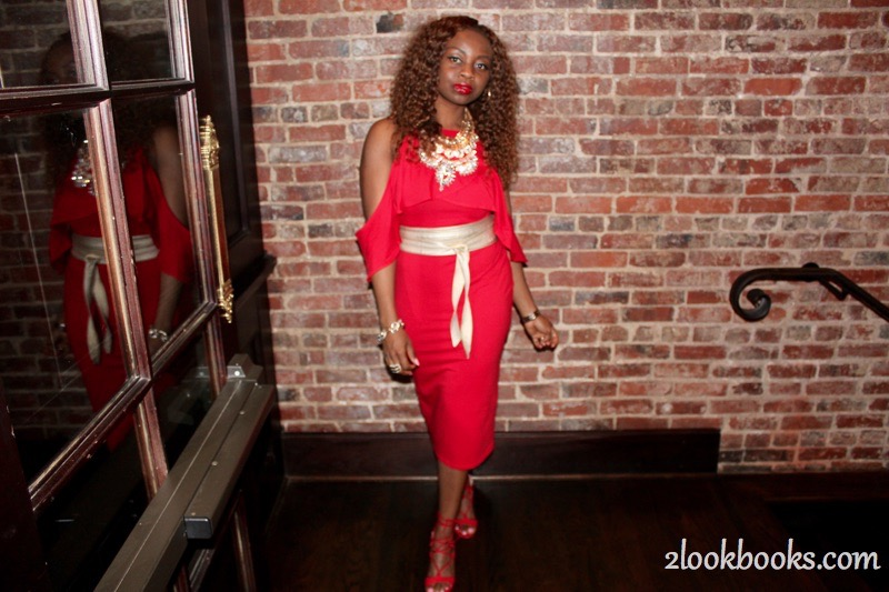 Red Party Dress6