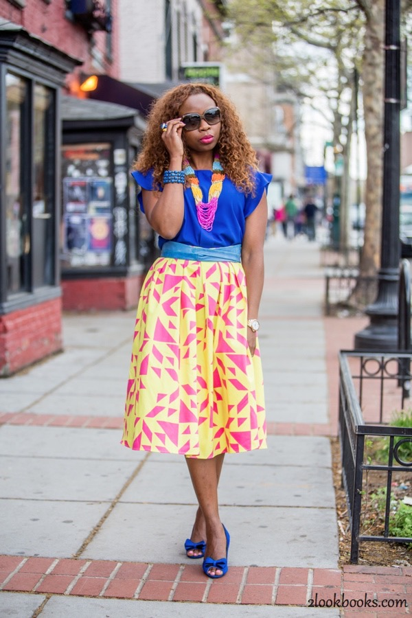 How to Style a Yellow Skirt23