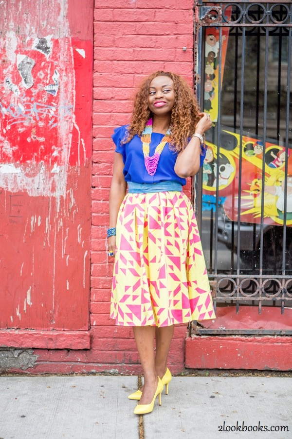 How to Style a Yellow Skirt5