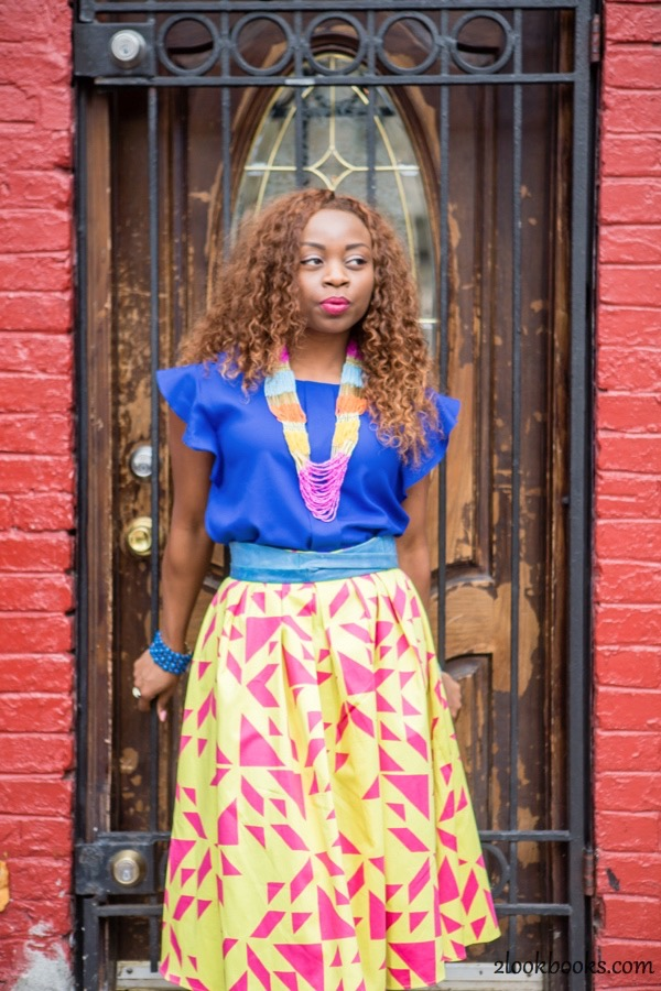 How to Style a Yellow Skirt6
