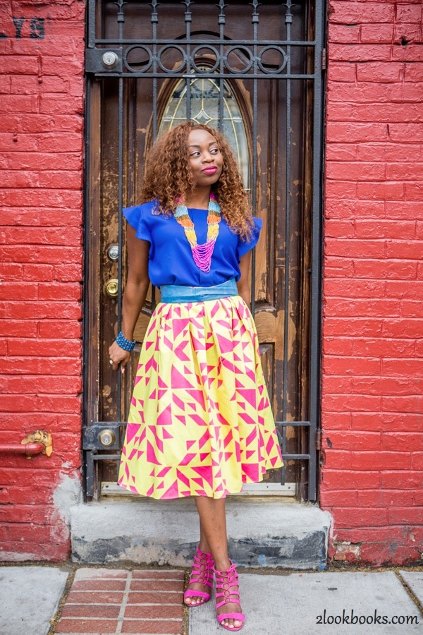 How to Style a Yellow Skirt7