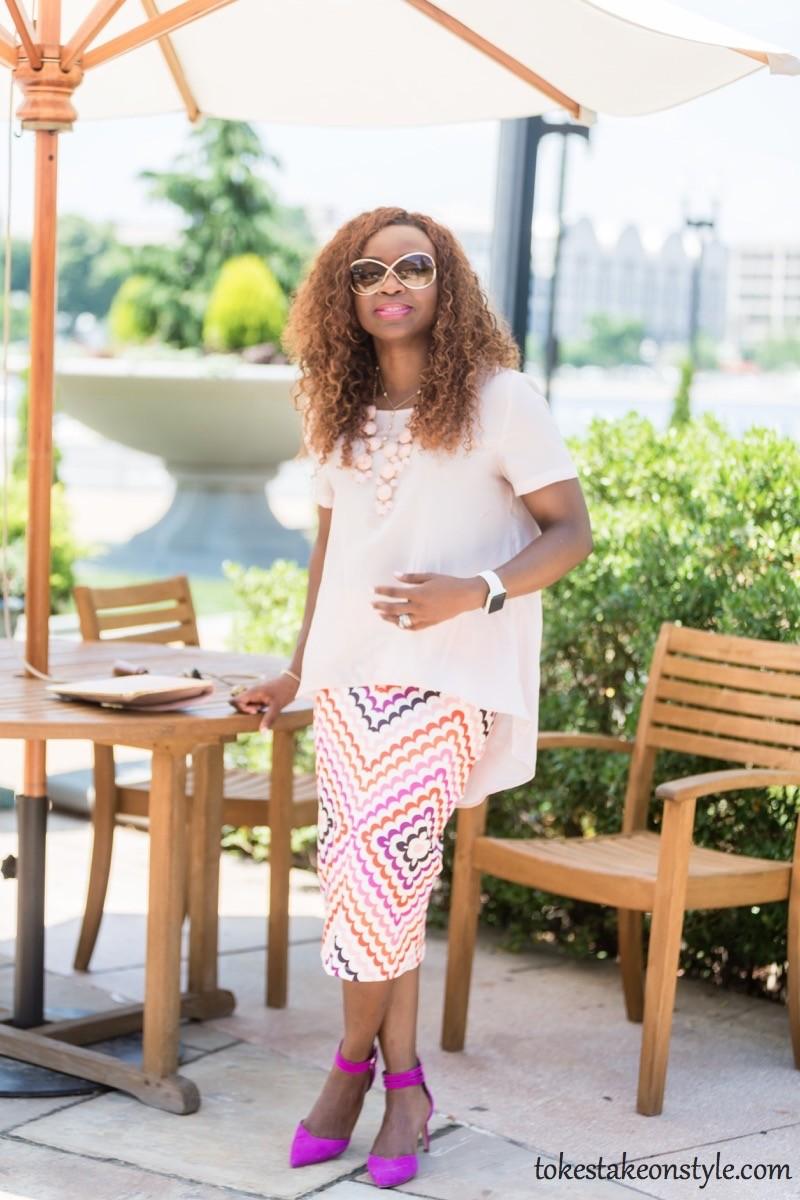 Print Skirt and Pastel Top-3 Ways10