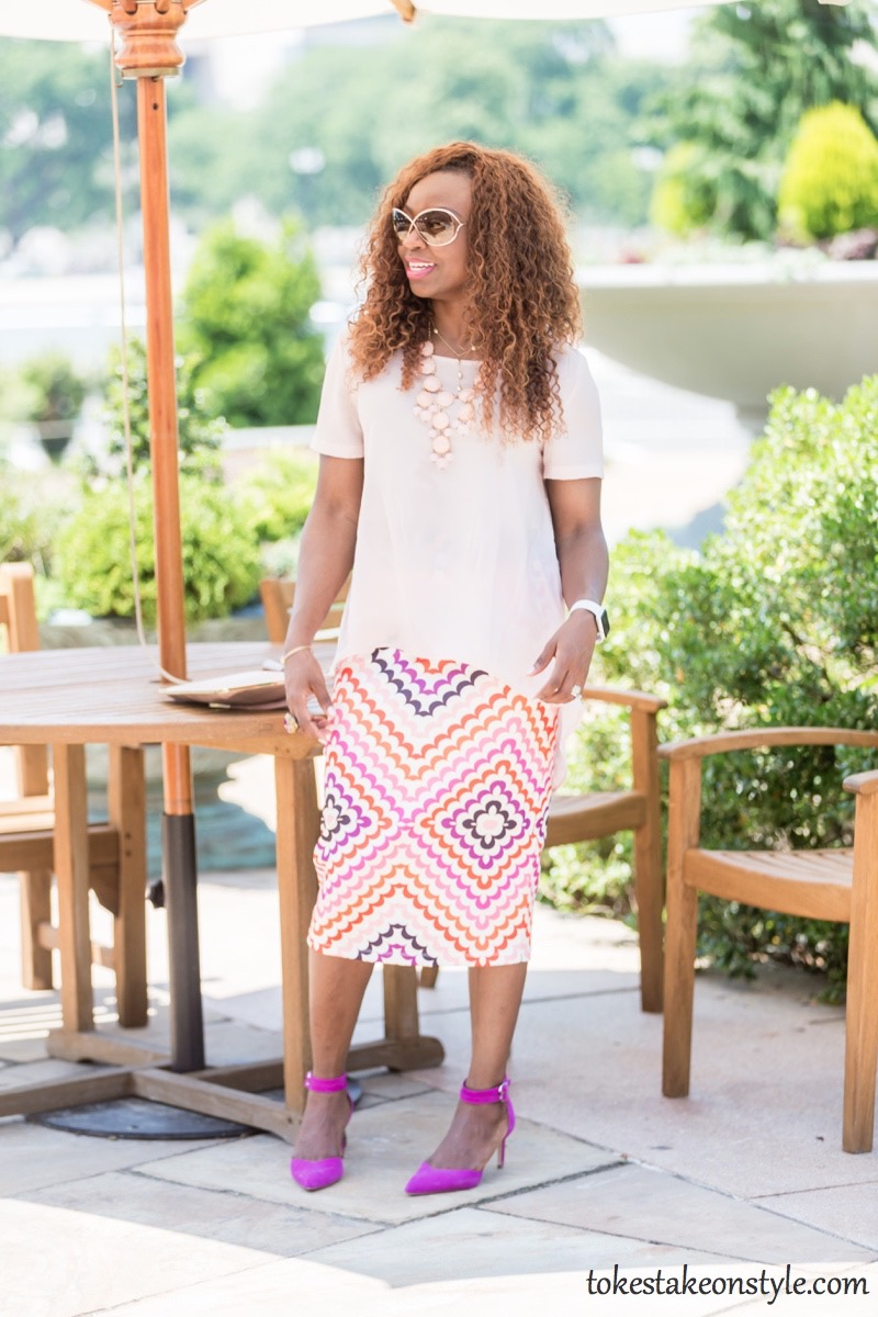 Print Skirt and Pastel Top-3 Ways9
