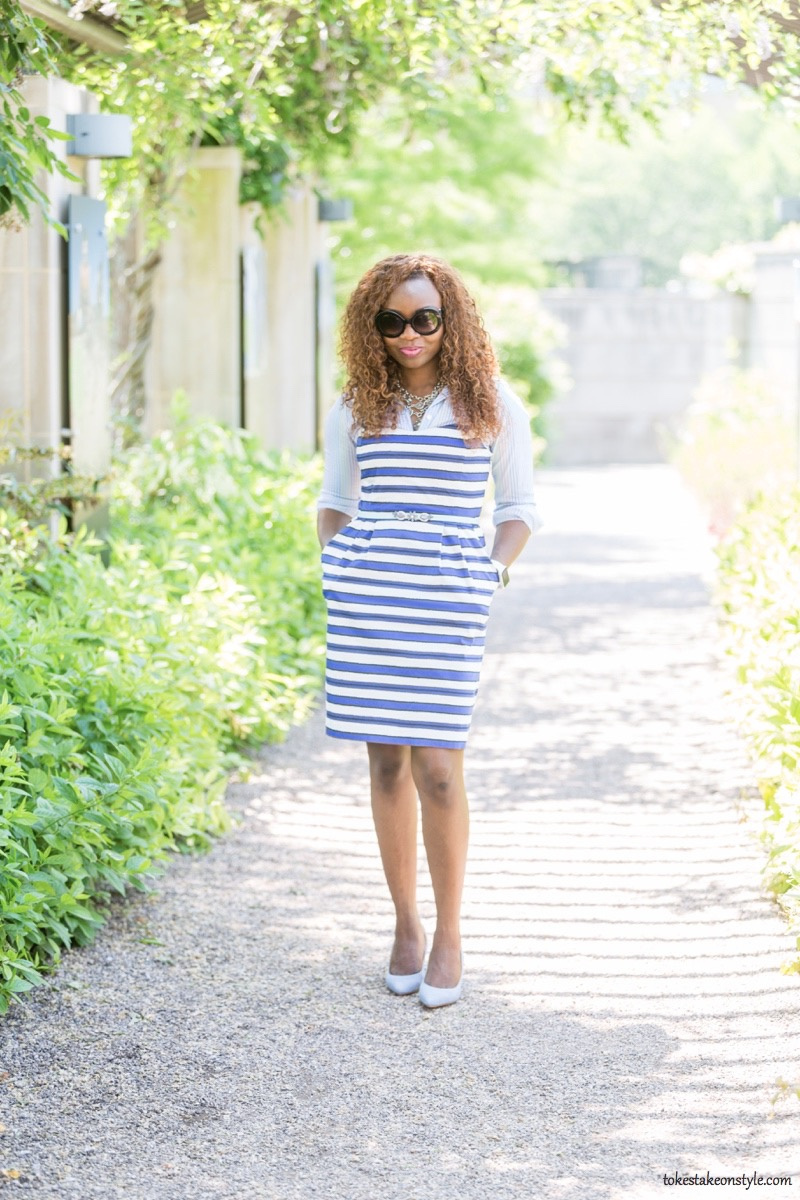 How to Style a Slip Dress for Work10