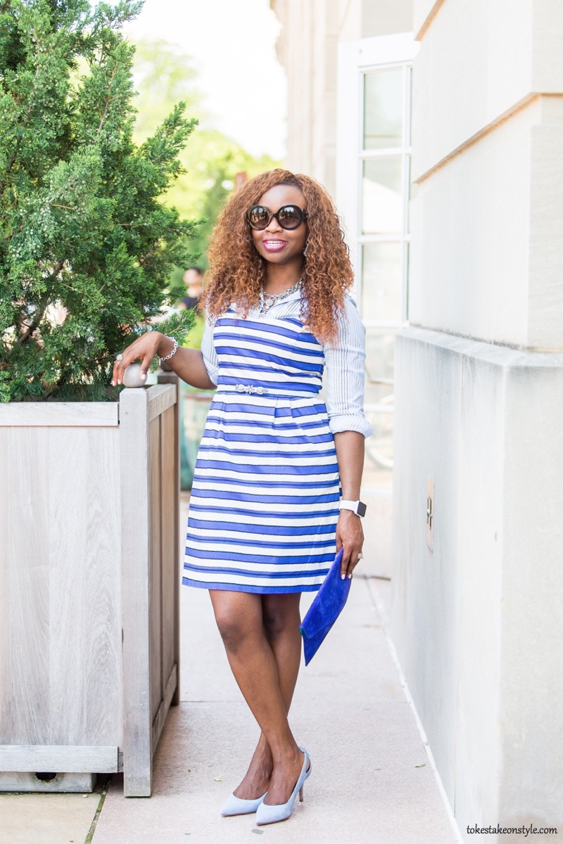 How to Style a Slip Dress for Work2