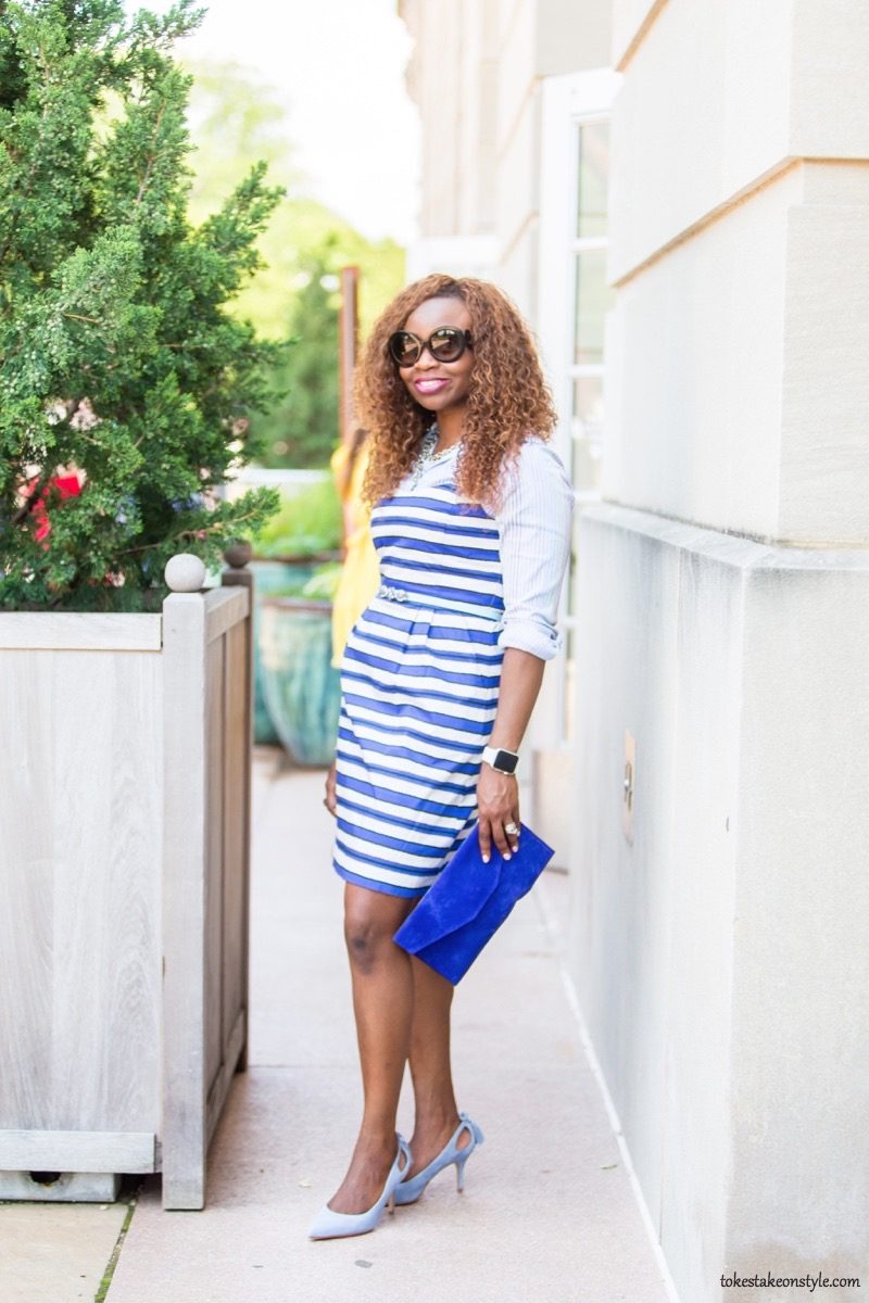 How to Style a Slip Dress for Work3