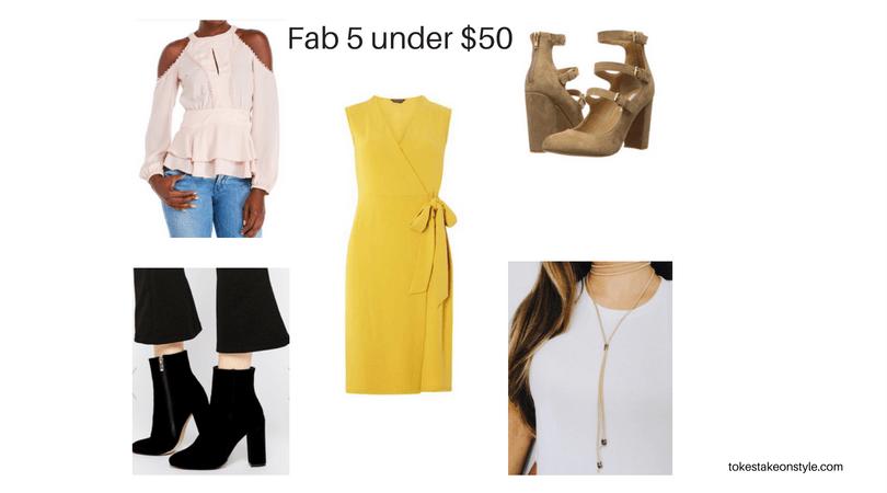 Fab 5 under $50 (1)