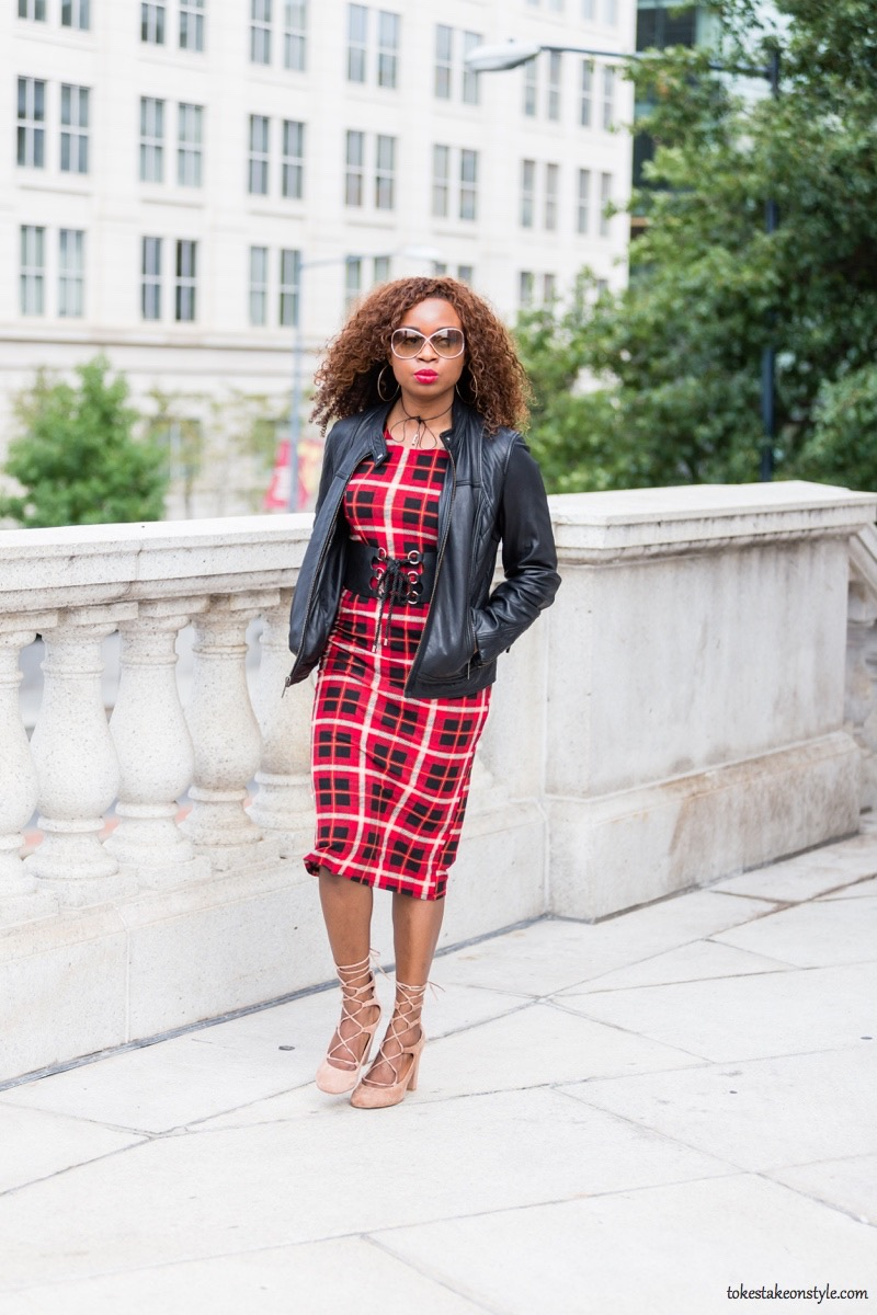 how-to-style-a-red-plaid-dress-for-fall11