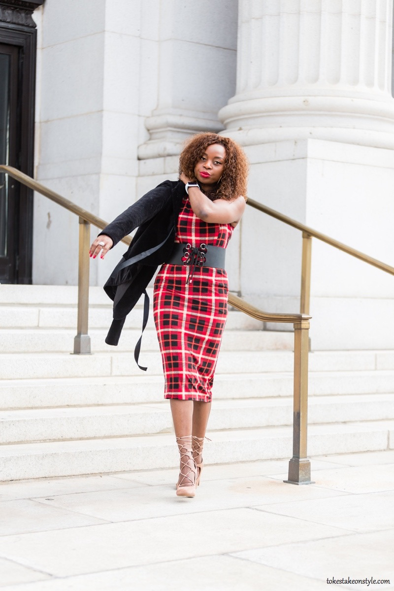how-to-style-a-red-plaid-dress-for-fall6