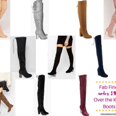 Fab Finds: Over the Knee Boots under $100