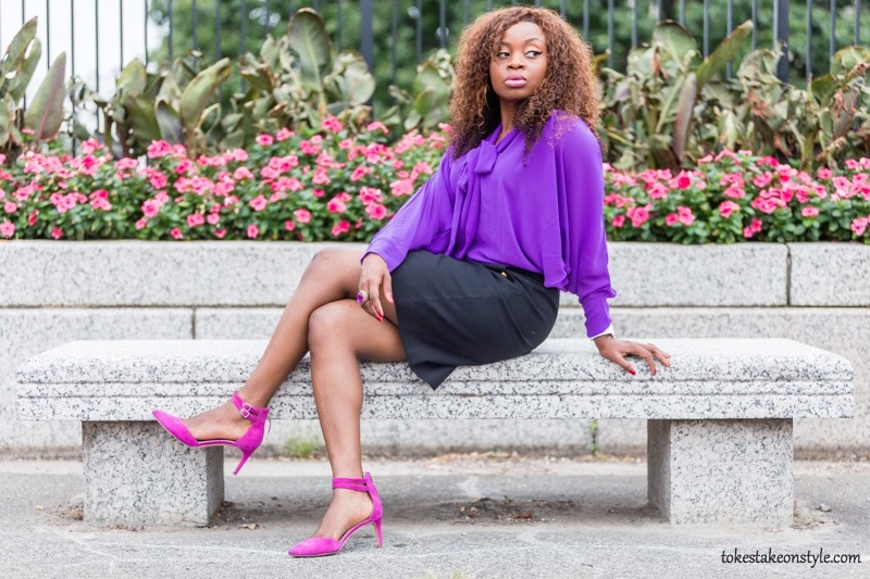fall-style-purple-pussybow-blouse-pink-pumps7