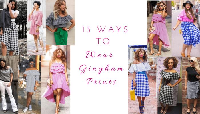 13 Ways to Wear Gingham