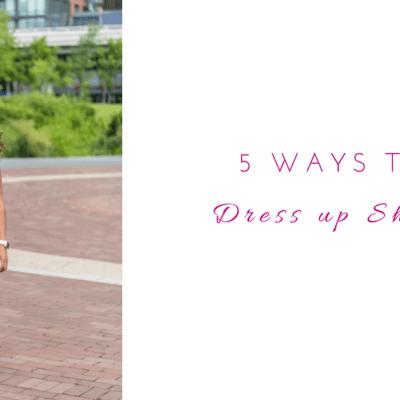 5 Ways to Dress Up Shorts
