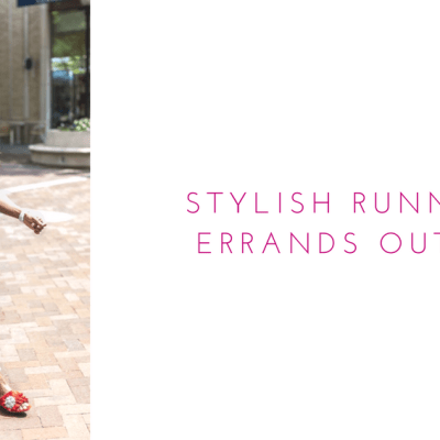 Stylish Running Errands Outfit