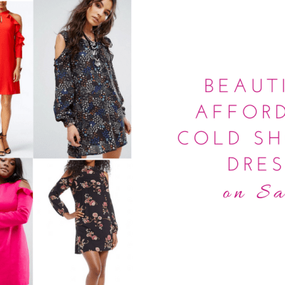 Beautiful And Affordable Cold Shoulder Dresses On Sale