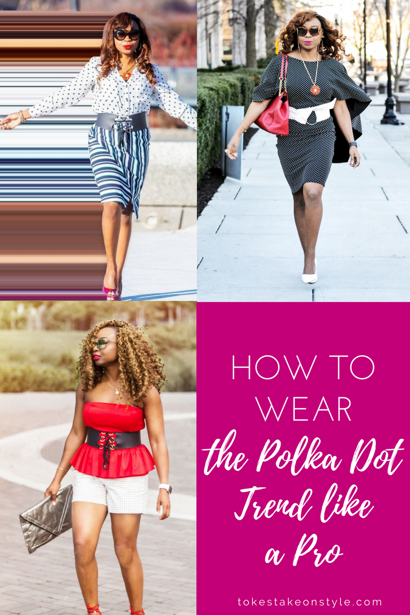 How to wear polka dot trend