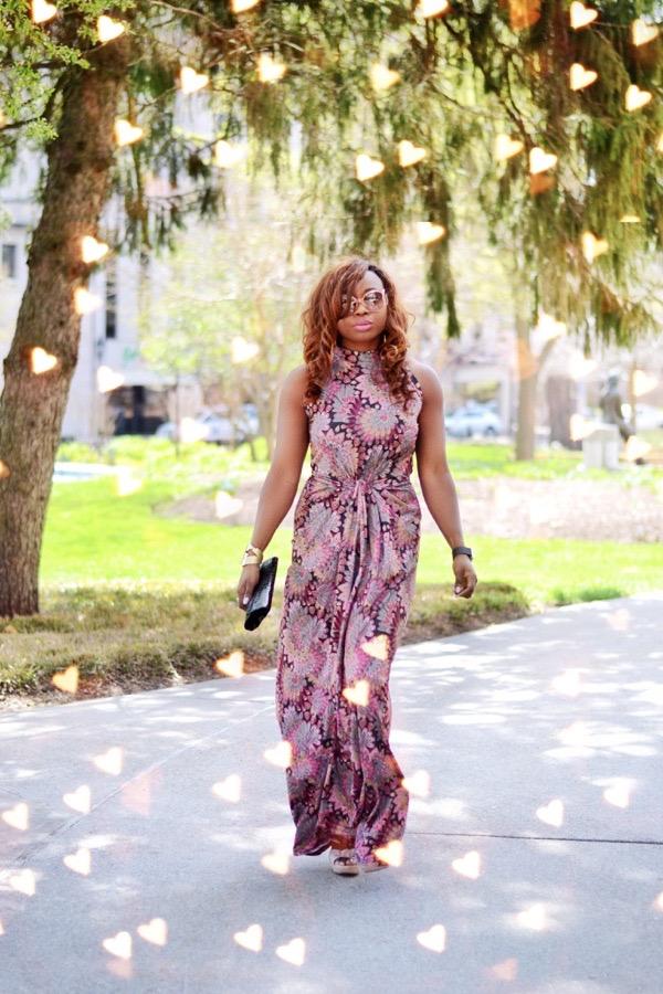 Gcgme Magnolia Summer Maxi Dress