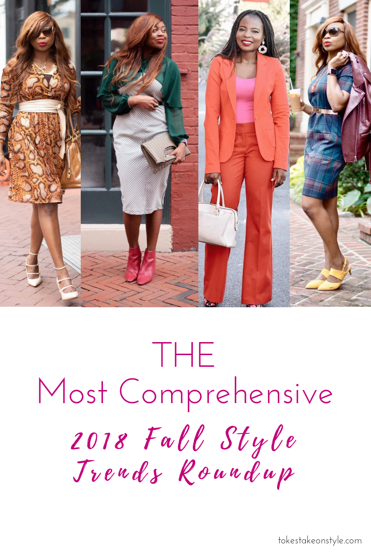 2018 Fall Style Trends