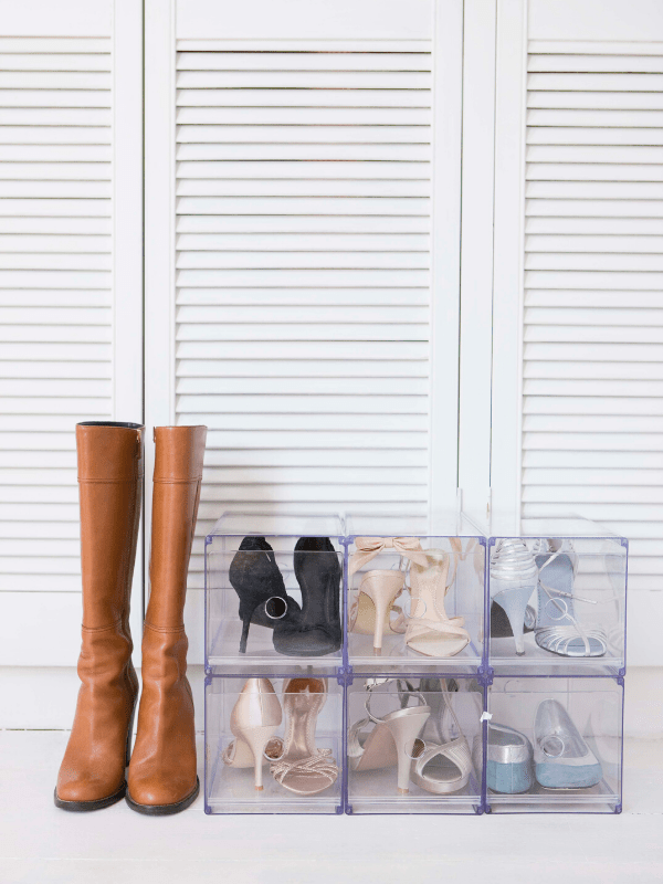how-to-organize-your-closet-clear-shoe-bins