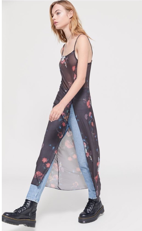 black-floral-sheer-overlays-wearable-summer-2020-fashion-trends