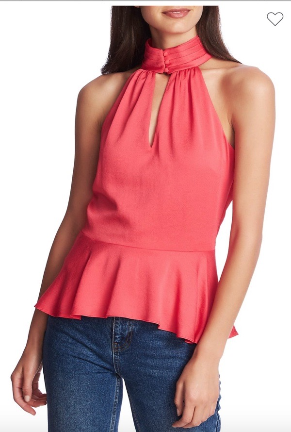 wearable-summer-2020-fashion-trends-nordstromrack-pink-halter-top