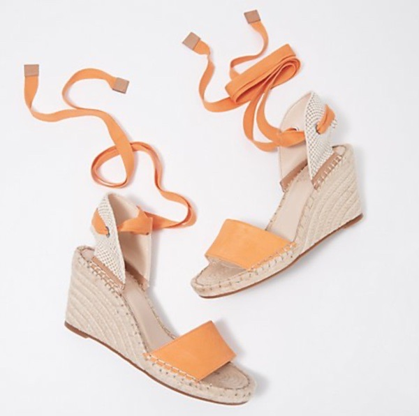 wearable-summer-2020-fashion-trends-ankle-wrap-wedge-sandals