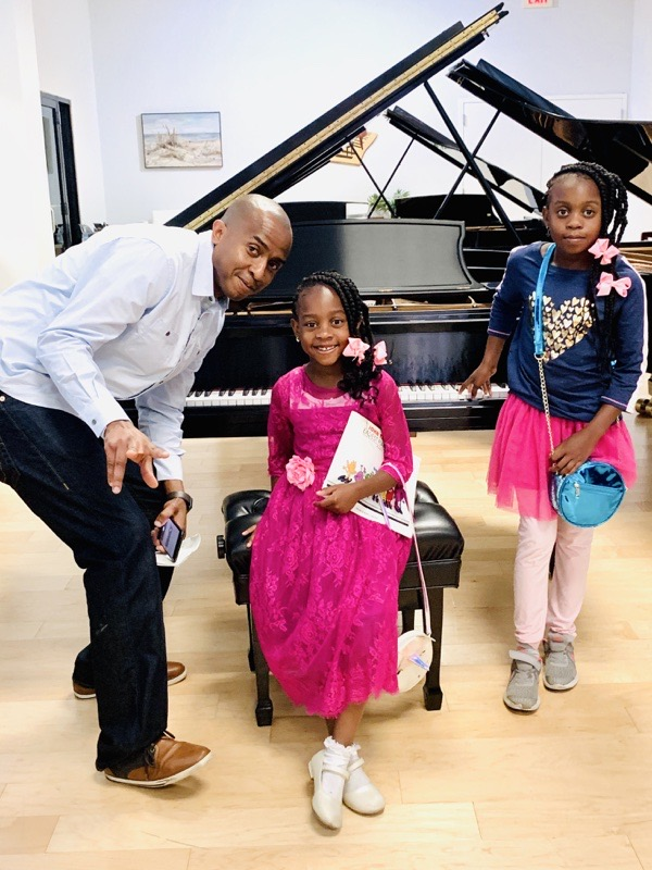 black-father-daughters