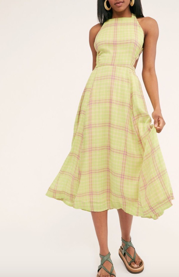 wearable-summer-2020-fashion-trends-chartreuse-free-people-dress