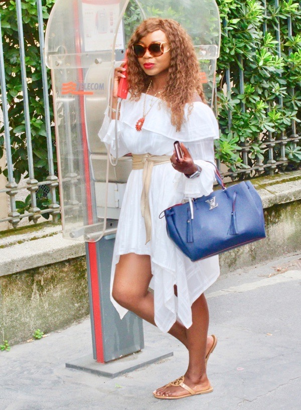 tokestakeonstyle-how-to-style-a-white-dress-for-summer-off-shoulder-asymmetric-white-dress