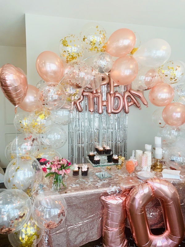 gold-silver-party-decoration-ideas-Palksky-12ft-Table-Balloon Arch-Kit-amazon