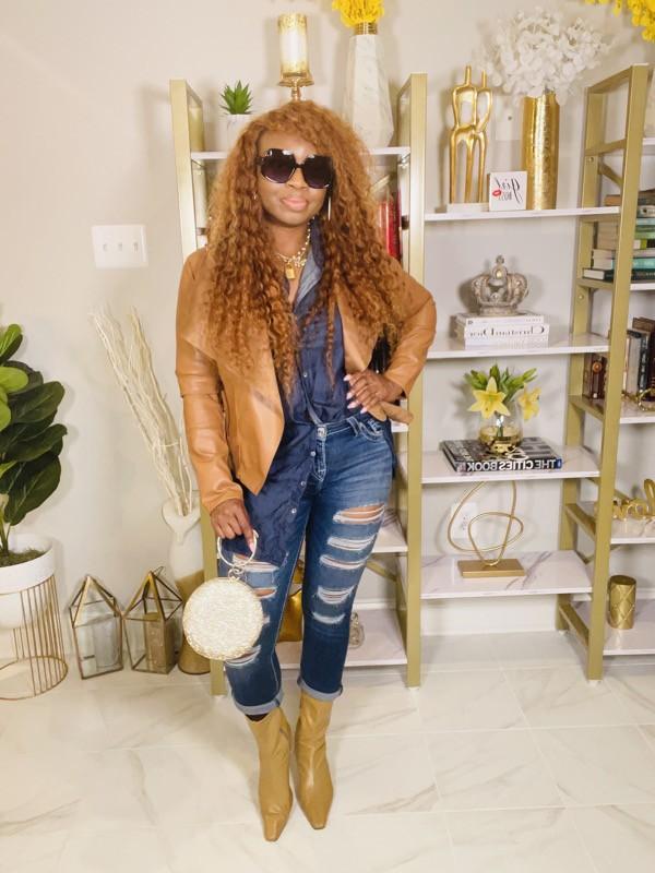 denim-on-denim-tan-faux-leather-jacket-camel-boots