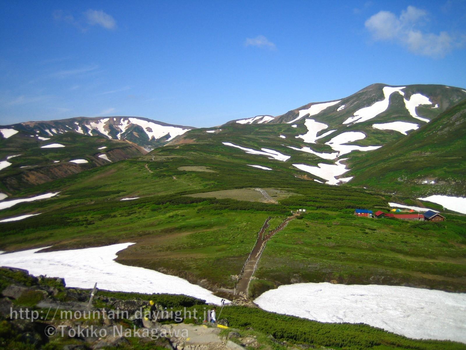 大雪山・黒岳周辺の風景