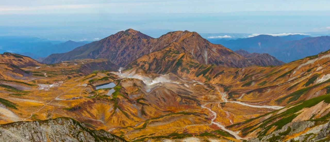 立山連峰|雷鳥沢~真砂岳~立山~一ノ越~黒部平