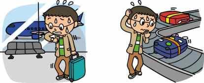 旅行のトラブル