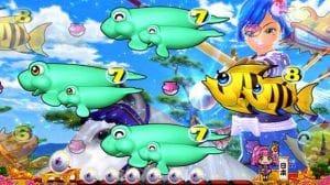 Pスーパー海物語IN JAPAN2 ワリン流鏑馬(やぶさめ)リーチ